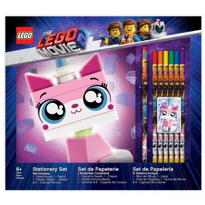 Купить Канцелярия, Lego Канцелярский набор для рисования Movie 2 Unikitty 10 шт.