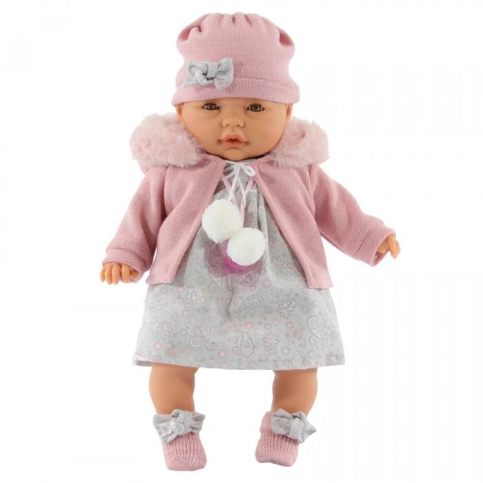 Munecas Antonio Juan  Кукла Хуана в розовом плачущая 37 см
