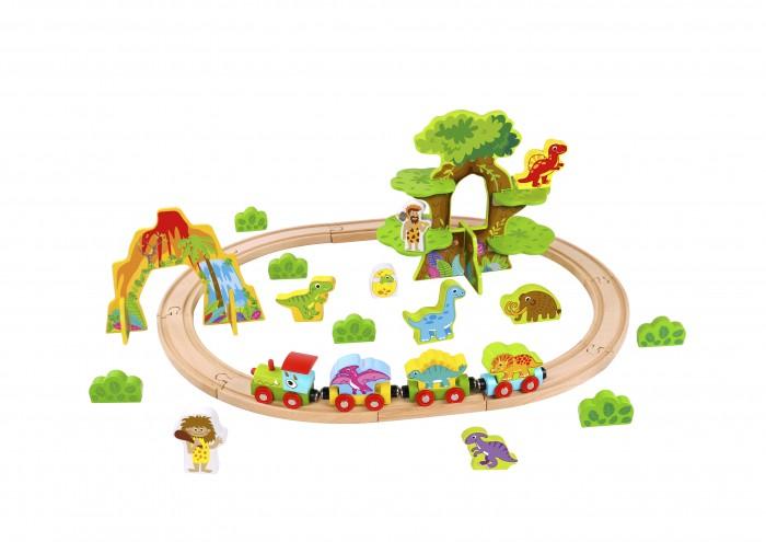 Купить Железные дороги, Tooky Toy Железная дорога Динозавры