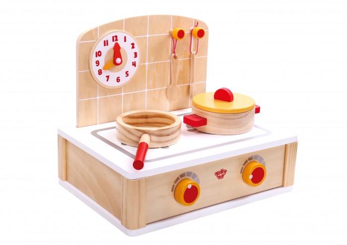 Деревянная игрушка Tooky Toy Игровой набор Плита фото