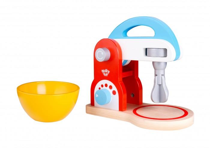 Деревянная игрушка Tooky Toy Игрушка Миксер