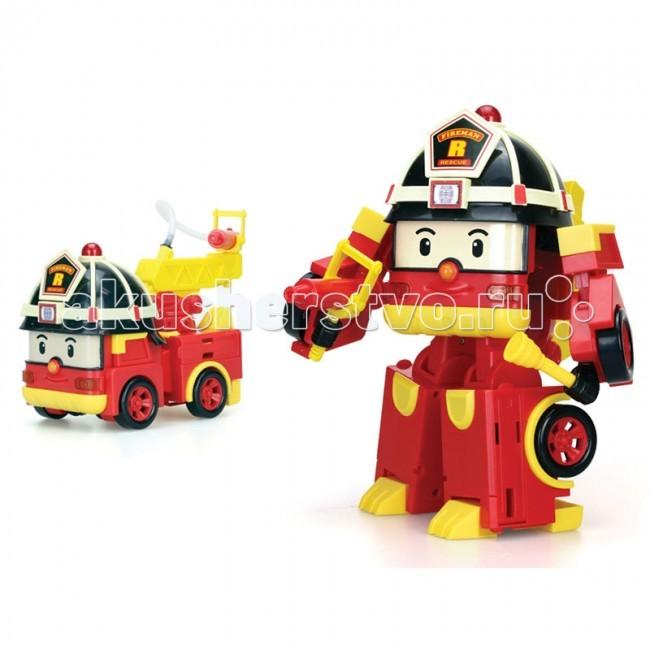 Робокар Поли (Robocar Poli) Рой Мега-трансформер 25 см 83284Рой Мега-трансформер 25 см 83284Мега-трансформер Рой из мультсериала Robocar Poli – отважный и смелый герой. Пожарная машинка Рой – член команды спасателей Робокар Поли. Игрушка Silverlit трансформируется из машинки в робота.  Пластмассовая машинка - персонаж мультфильма с выдвигающимися деталями. Машинка на колесах легко превращается в робота. Игрушка со световыми и звуковыми эффектами, высота в виде робота - 25 см.   Рой-робот: подвижные конечности, вращается голова. Ударопрочный пластик: многократные превращения трансформера не повлияют на качество игрушки Сильверлит.  Рой в 5 этапов трансформируется в пожарную машинку: следуйте инструкции и получайте новую модель для игры. Пожарный шланг поднимается и опускается.  Продукция сертифицирована, экологически безопасна для ребенка, использованные красители не токсичны и гипоаллергенны.  Питание: батарейки LR44 - 2 шт. входят в комплект.<br>