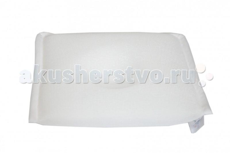 Theraline Подушка Baby PillowПодушка Baby PillowПодушка для малыша Baby Pillow подарит новорожденному удобство и спокойный сон. Эта модель разработана специально для новорожденных, с учетом особенностей развития детского организма. Подушка поддерживает головку ребенка в нужном положении во время сна, не ограничивает движения.   Имеющееся углубление в подушке помогает предотвратить деформацию черепа или исправить уже возникшее.  Подушка состоит из трех различных видов специальной экологически чистой, «дышащей» ткани, благодаря чему вокруг головки малыша поддерживается одинаковая температура - отличная теплопроводимость.  Гигиенична: можно стирать при температуре 60°С  Подходит для детей в возрасте 0-12 месяцев  Состав: 82% полиэтилентерефталат, 9% полиэстер, 9% полипропилен  Размер подушки: 21x20x3 см<br>