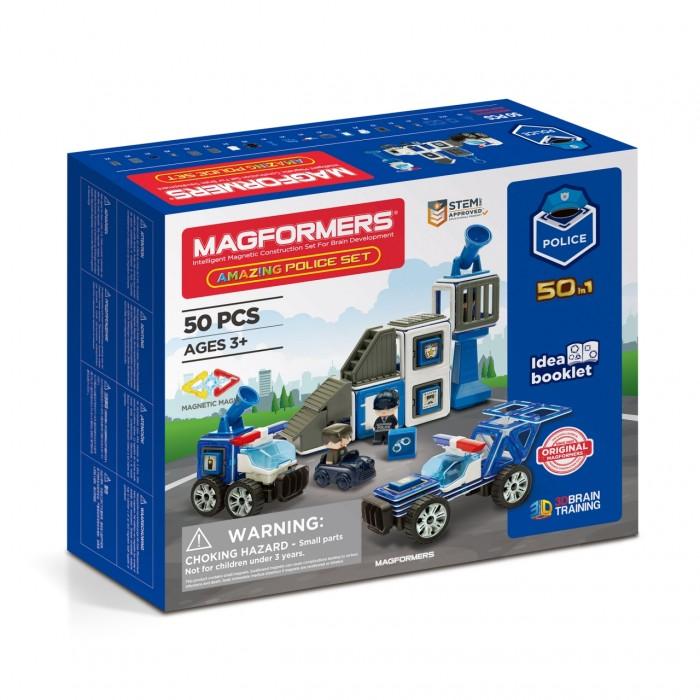 Конструктор Magformers Магнитный Amazing Police Set (50 элементов) фото
