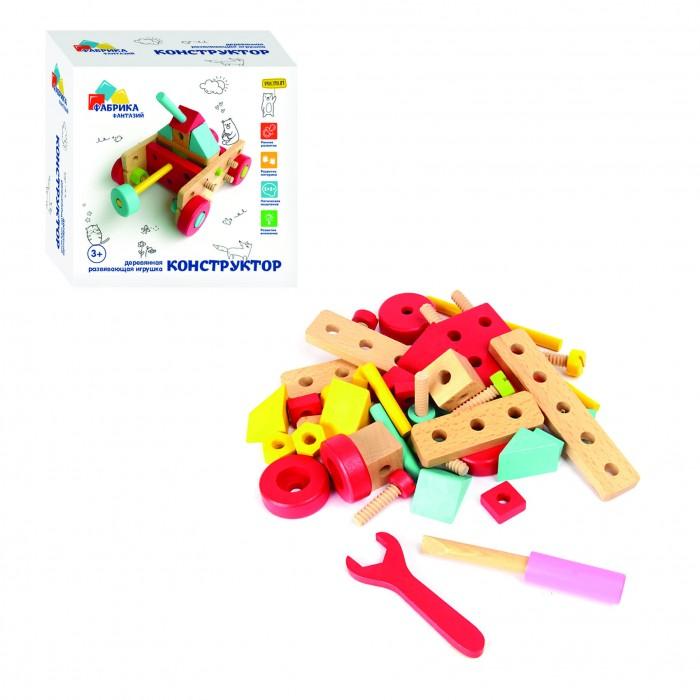Картинка для Деревянные игрушки Фабрика фантазий Конструктор (68 деталей)