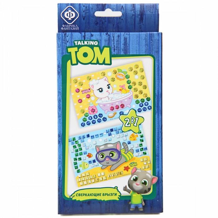Купить Фабрика фантазий Набор Аппликация кристаллами и сверкающая мозаика Talking Tom Сверкающие брызги в интернет магазине. Цены, фото, описания, характеристики, отзывы, обзоры