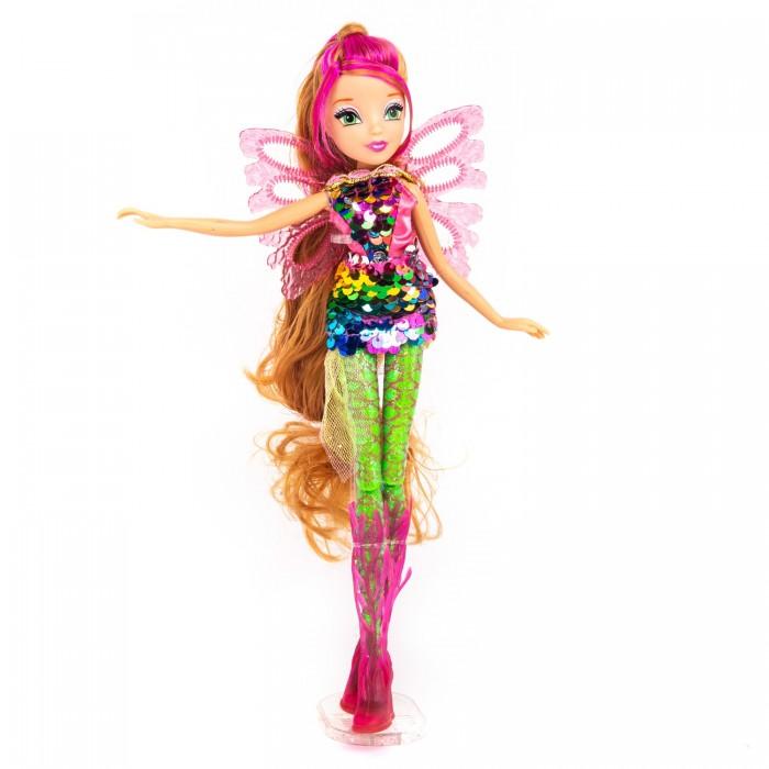 Картинка для Феи Винкс (Winx Club) Кукла Сиреникс мыльные пузыри Флора