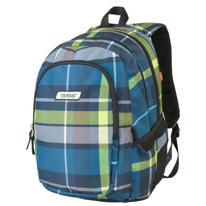 Купить Школьные рюкзаки, Target Collection Рюкзак 3 zip Green