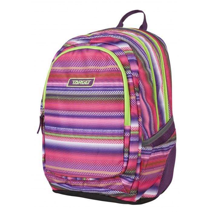 Купить Школьные рюкзаки, Target Collection Рюкзак 3 zip Aurora