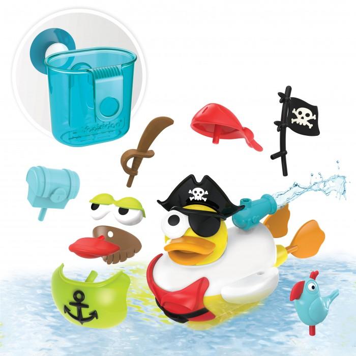 Купить Игрушки для ванны, Yookidoo Игрушка водная Утка-пират с водометом и аксессуарами