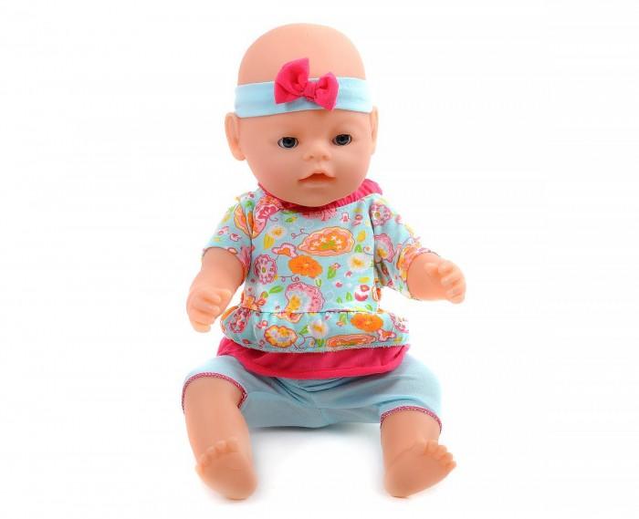 Муси-Пуси Пупс с аксессуарами 42 смКуклы и одежда для кукол<br>Муси-Пуси Пупс с аксессуарами 42 см обязательно понравится вашей девочке, играя с пупсом, девочка воспитает в себе только самые положительные качества, научится заботе и доброте.  Игра с пупсом отлично развивает воображение, с помощью множества аксессуаров можно создать увлекательный сюжет игры. Порадуйте свою малышку таким великолепным подарком!  Особенности: 8 аксессуаров 9 функций плачет слезами пьёт кушает писает пищит можно купать реагирует на соску закрывает глазки