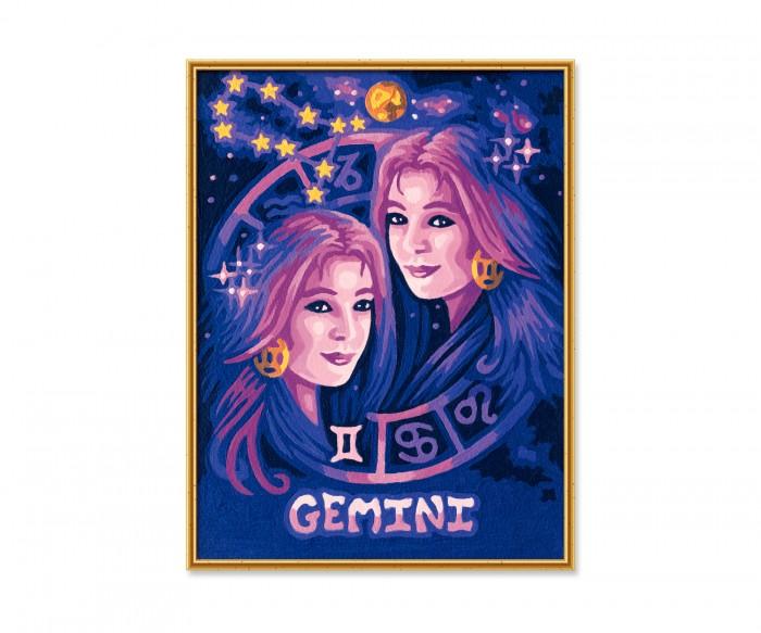Картины по номерам Schipper Картина по номерам Знак Зодиака Близнецы 18х24 см