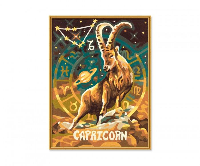 Картины по номерам Schipper Картина по номерам Знак Зодиака Козерог 18х24 см раскраска schipper знаки зодиака скорпион 9390679