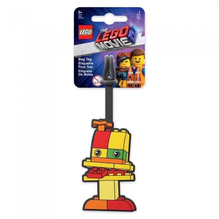 Детские чемоданы Lego Movie 2 Бирка для багажа Duplo lego movie бирка для багажа lego star wars movie 2 дупло