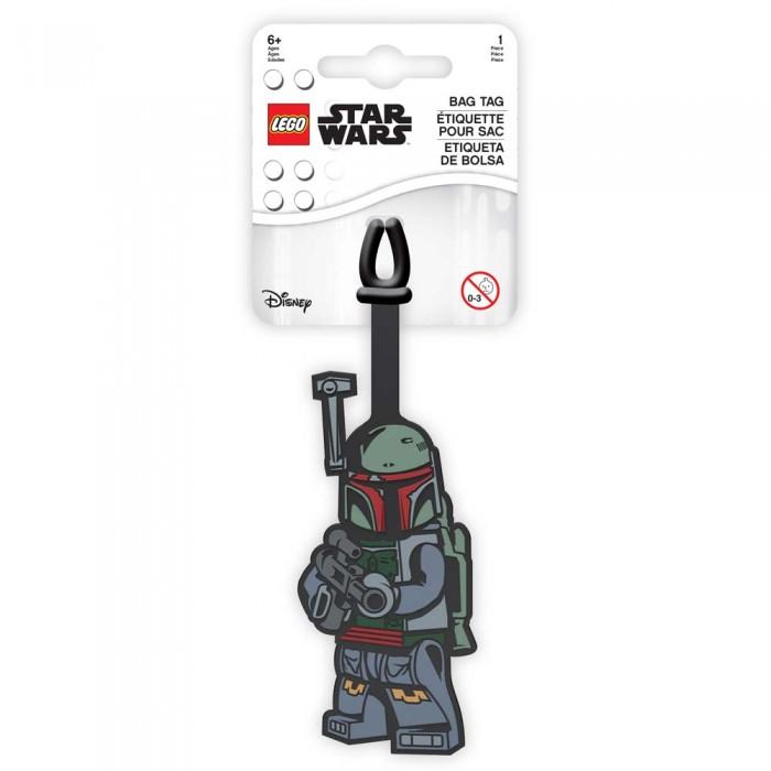 Детские чемоданы Lego Star Wars Бирка для багажа Boba Fett lego бирка для багажа lego star wars movie 2 дупло