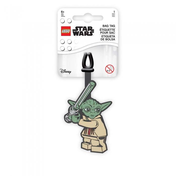 Детские чемоданы Lego Star Wars Бирка для багажа Yoda lego бирка для багажа lego star wars movie 2 дупло