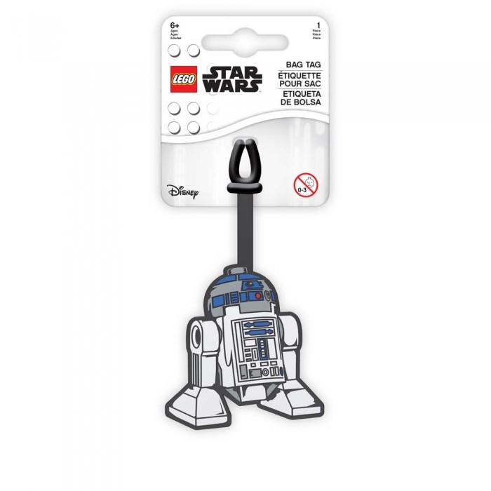 Детские чемоданы Lego Star Wars Бирка для багажа R2D2