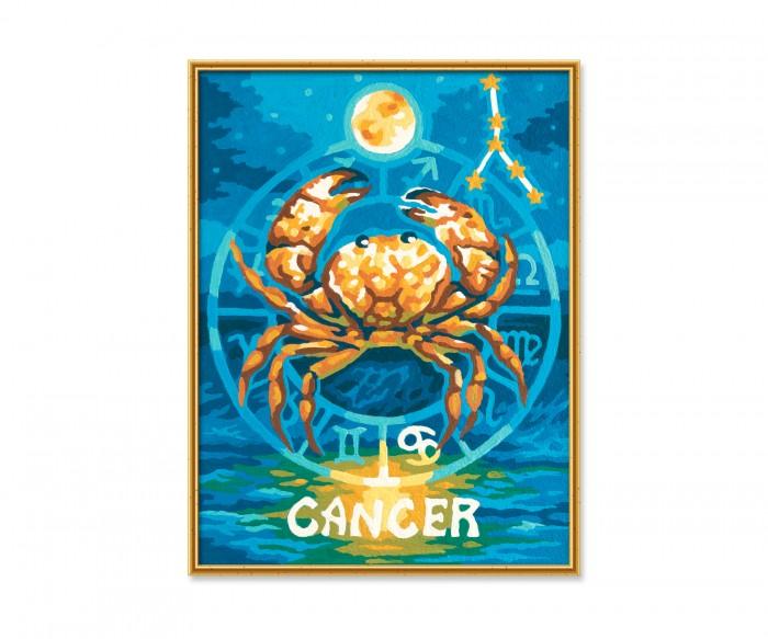 Картины по номерам Schipper Картина по номерам Знак Зодиака Рак 18х24 см раскраска schipper знаки зодиака скорпион 9390679
