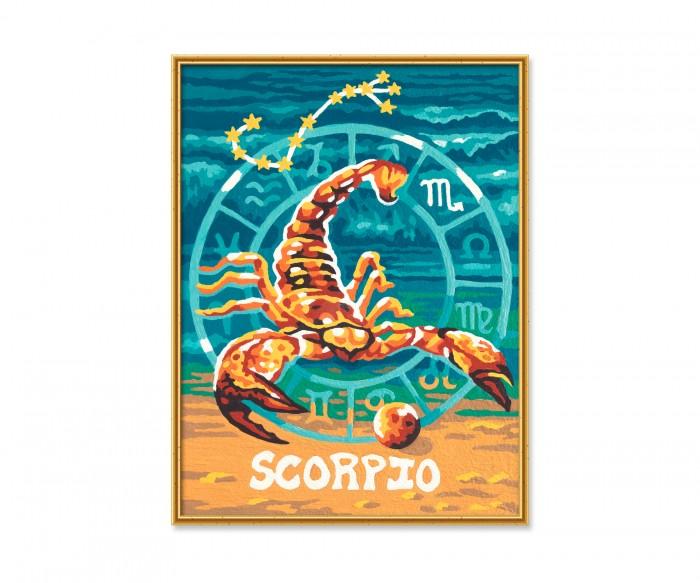 Картины по номерам Schipper Картина по номерам Знак Зодиака Скорпион 18х24 см раскраска schipper знаки зодиака скорпион 9390679