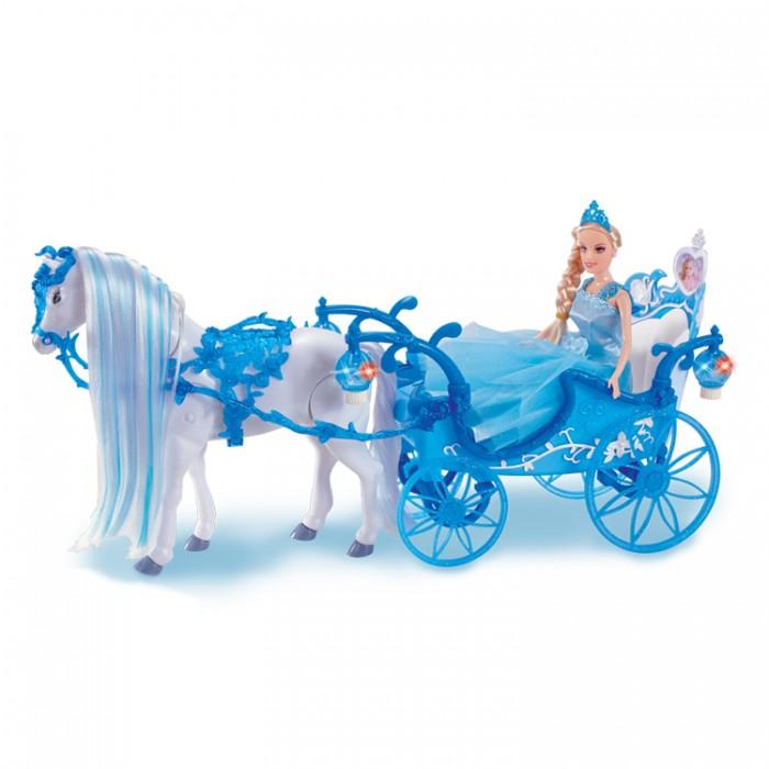 Girls Club Карета с куклой и с ходячей лошадкой IT101333/GC