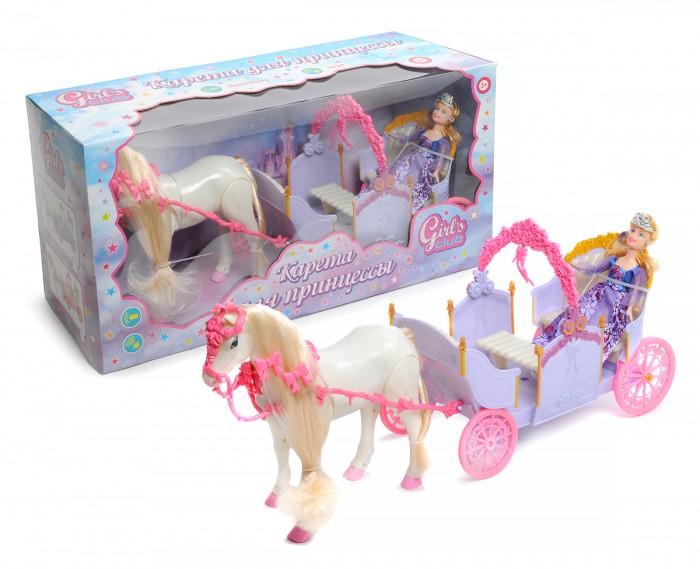 Girls Club Карета с куклой и с ходячей лошадкой IT102729