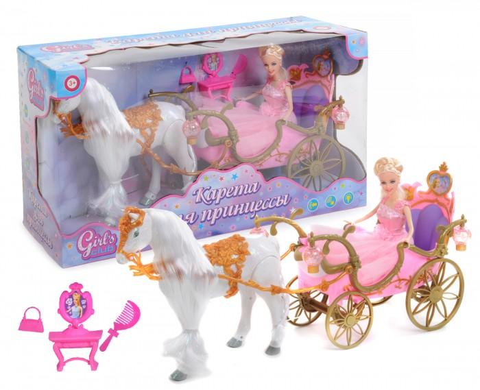 Girls Club Карета с куклой и с ходячей лошадкой IT102731