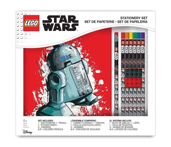 Lego Star Wars Канцелярский набор для рисования 11 шт. от Lego