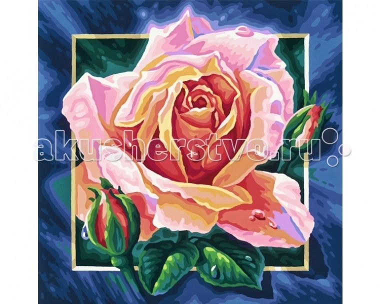 Schipper Картина по номерам Роза 40х40 см