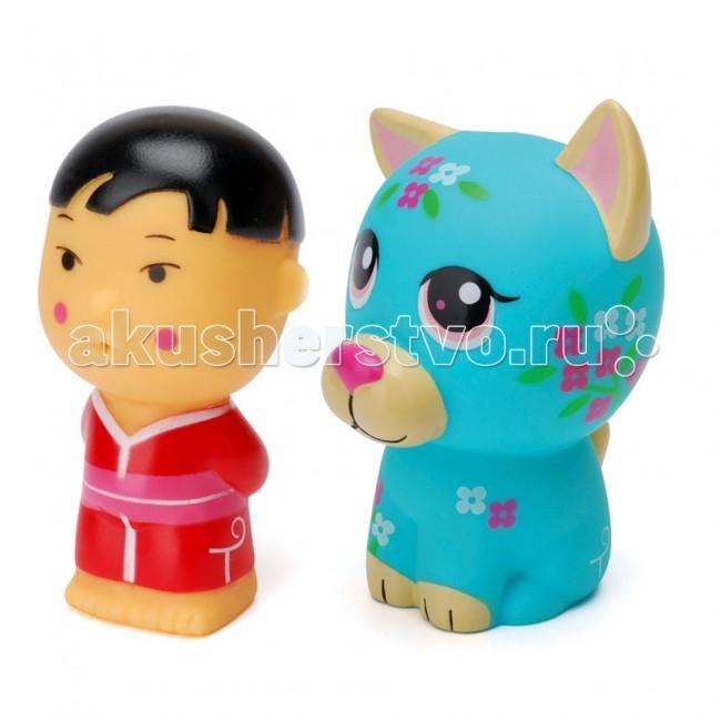 Игрушки для ванны ПОМА Игрушка для купания Тусики Азия 2 игрушки для ванны пома набор для ванны транспорт 2