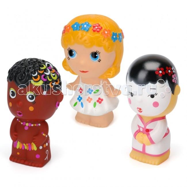 Игрушки для ванны ПОМА Игрушка для купания Тусики Девочки детская игрушка для купания new 36 00