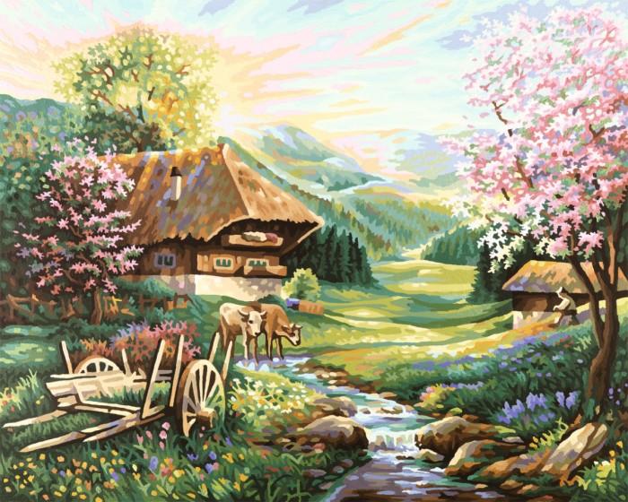 Творчество и хобби , Картины по номерам Schipper Картина по номерам Весна 40х50 см арт: 67278 -  Картины по номерам