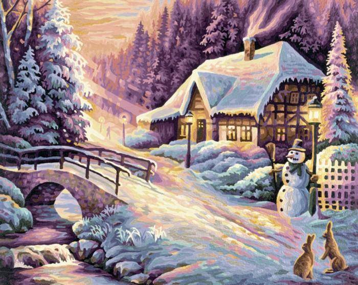 Картины по номерам Schipper Картина по номерам Зима 40х50 см