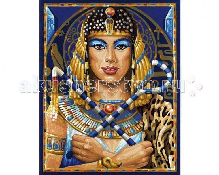 Творчество и хобби , Картины по номерам Schipper Картина по номерам Клеопатра 40х50 см арт: 67284 -  Картины по номерам