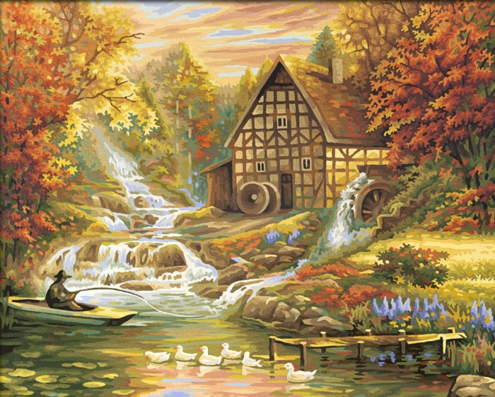 Картины по номерам Schipper Картина по номерам Осень 40х50 картины в квартиру картина etude 2 102х130 см