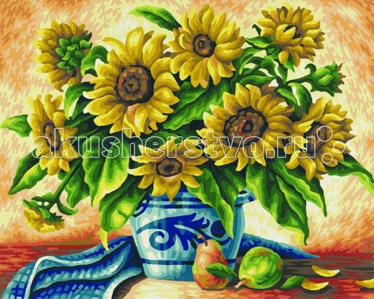 Творчество и хобби , Картины по номерам Schipper Картина по номерам Подсолнухи 40х50 см арт: 67300 -  Картины по номерам