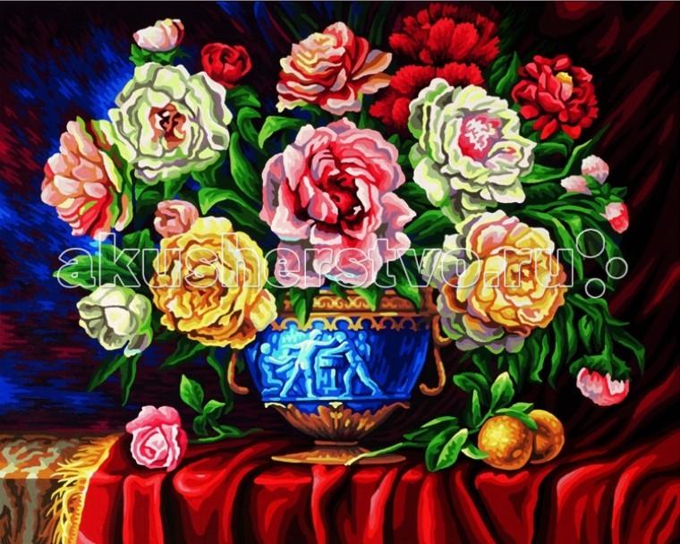 Творчество и хобби , Картины по номерам Schipper Картина по номерам Пионы 40х50 см арт: 67301 -  Картины по номерам