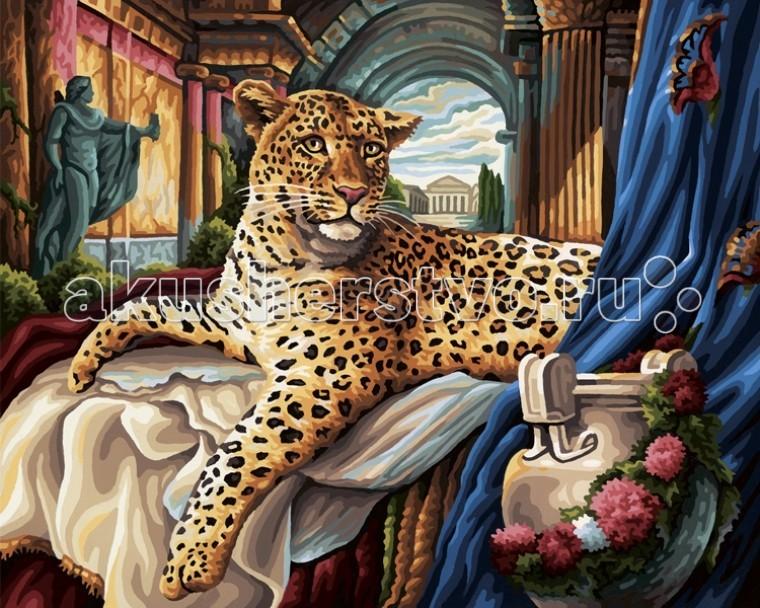 Schipper Картина по номерам Римский леопард 40х50 см
