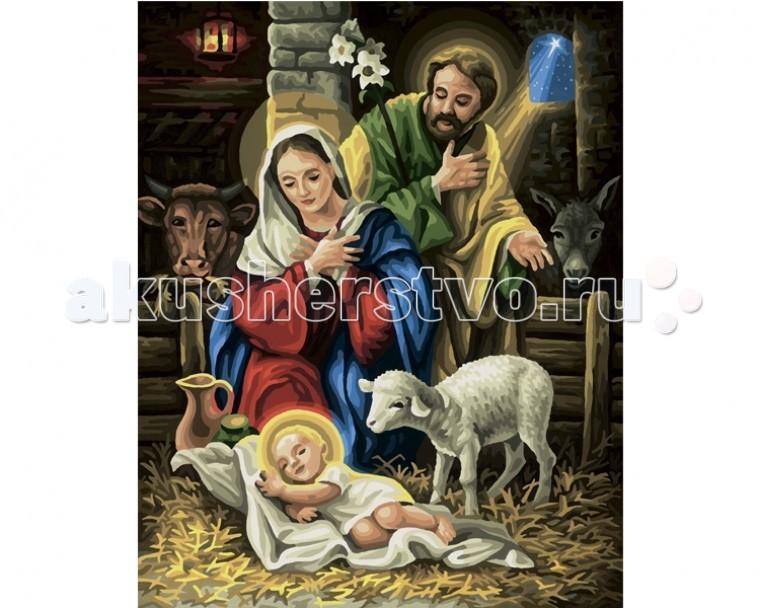 Schipper Картина по номерам Рождение Христа 40х50 см