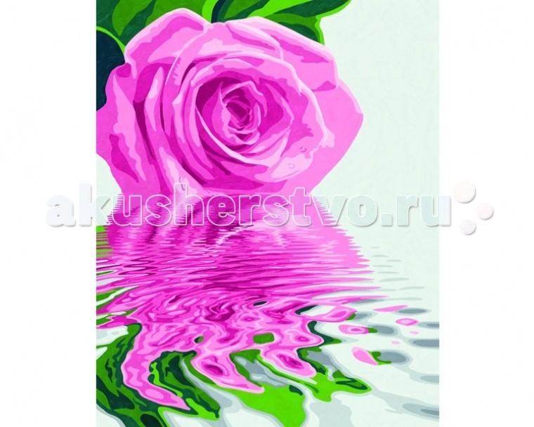 Schipper Картина по номерам Розовая роза 40х50 смКартина по номерам Розовая роза 40х50 смКартина по номерам Schipper Розовая роза   Особенности:    Основа для картины имеет льняную структуру, поэтому готовая картина выглядит как настоящее произведение искусства.  Картина раскрашивается без смешивания красок.  Все необходимые цвета красок есть в комплекте. Просто закрашивайте участки красками с соответствующим номером.  В набор также входит фактурная картонная основа с пронумерованными контурами, кисть и контрольный лист, на котором вы можете потренироваться, прежде чем переходить к раскрашиванию основного листа.  Акриловые краски в данном наборе содержатся в очень плотно закрытых контейнерах. Благодаря этому, краски доходят до покупателя, сохранив свои свойства.   Кол-во цветов: 14 Размер: 40х50 см<br>