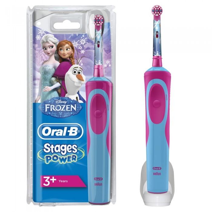 Oral-B Детская электрическая зубная щетка Stages  Power Холодное сердце 3+ 0053019194