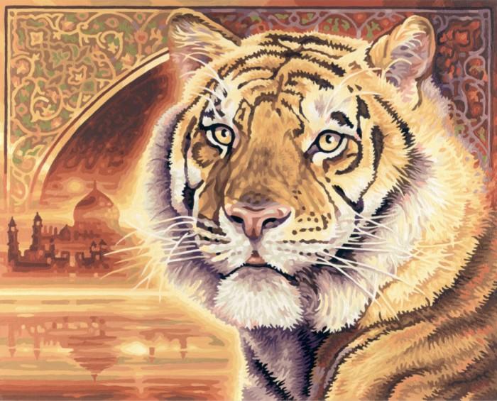Schipper Картина по номерам Тигр 40х50 смКартина по номерам Тигр 40х50 смКартина по номерам Schipper Тигр   Особенности:    Основа для картины имеет льняную структуру, поэтому готовая картина выглядит как настоящее произведение искусства.  Картина раскрашивается без смешивания красок.  Все необходимые цвета красок есть в комплекте. Просто закрашивайте участки красками с соответствующим номером.  В набор также входит фактурная картонная основа с пронумерованными контурами, кисть и контрольный лист, на котором вы можете потренироваться, прежде чем переходить к раскрашиванию основного листа.  Акриловые краски в данном наборе содержатся в очень плотно закрытых контейнерах. Благодаря этому, краски доходят до покупателя, сохранив свои свойства.   Кол-во цветов: 28 Размер: 40х50 см<br>