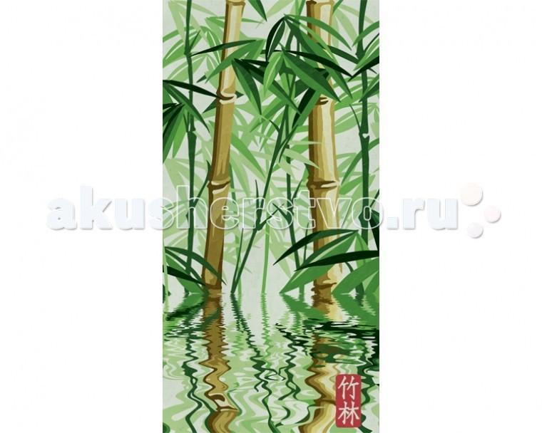 Schipper Картина по номерам Бамбуковый лес 40х80 см