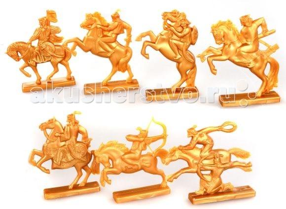 Игровые фигурки Игрушкин Фигурки воинов Золотая Орда мицелий грибов вешенка золотая 16 древесных палочек