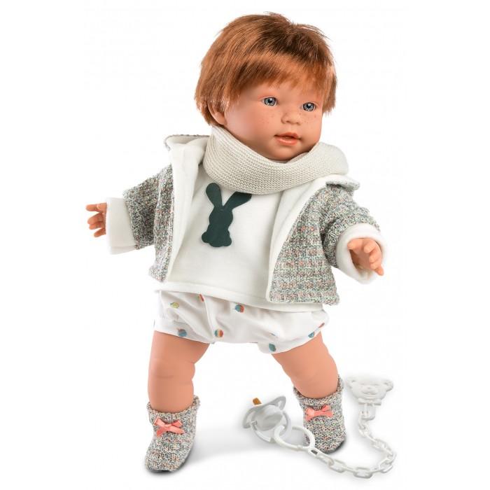Куклы и одежда для кукол, Llorens Кукла Кристиан 42 см со звуком  - купить со скидкой