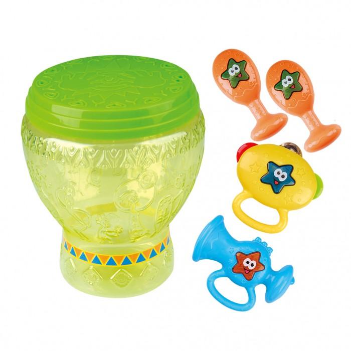 Музыкальный инструмент Playgo Набор игрушек в барабане