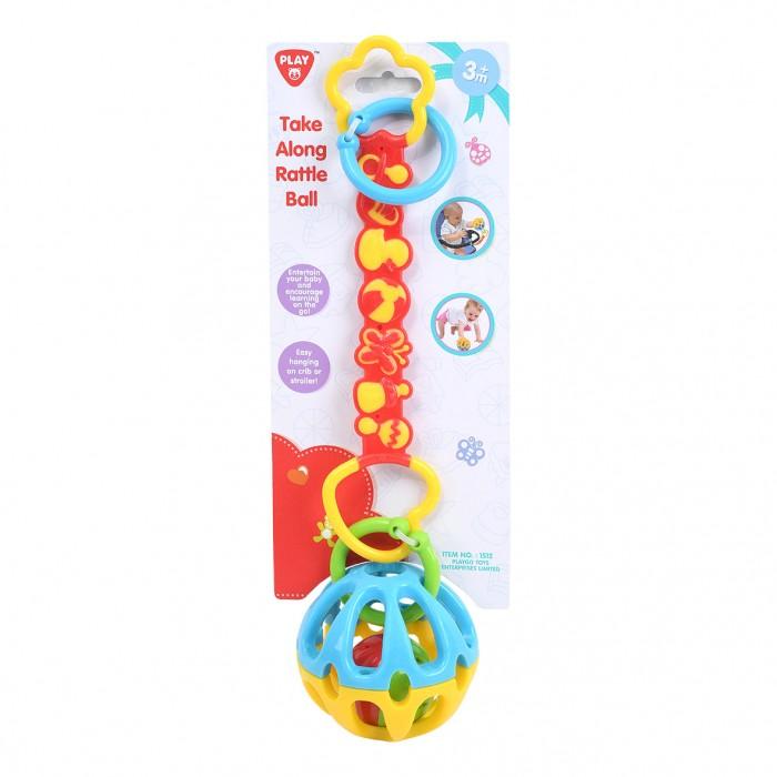 Купить Подвесные игрушки, Подвесная игрушка Playgo Развивающая Мяч-погремушка