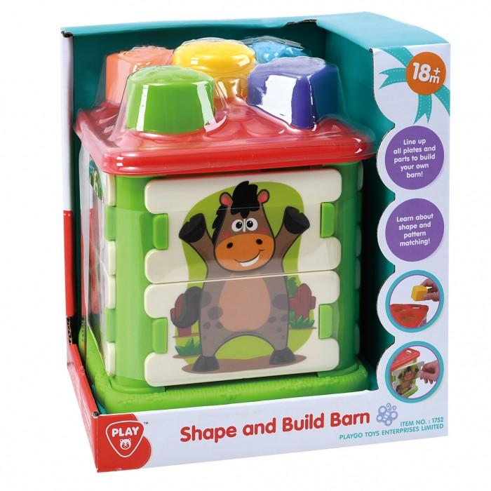 Купить Развивающие игрушки, Развивающая игрушка Playgo центр Ферма-сортер