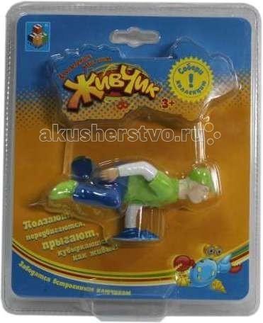Развивающие игрушки 1 Toy Живчик Игрушка заводная брейк-дансер диски cd dvd sony dvd r16x 50
