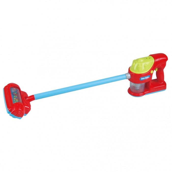 Playgo Игровой ручной пылесосРолевые игры<br>Playgo Игровой ручной пылесос  В детской комнате вашего ребенка теперь будет слышен шум работающего пылесоса, ведь у крохи появится миниатюрная, но очень реалистичная копия этого бытового прибора. Особенно забавно выглядят движущиеся разноцветные шарики, размещённые в прозрачном отсеке игрушки.  Особенности:  Девочки с удовольствием дополнят свои сюжетные игры этим ярким пылесосом, который сделает развлечения еще более реалистичными.  В этом им помогут звуковые и световые эффекты изделия, имитирующие шум работающего бытового прибора и индикатор включения  В нижней части пылесоса предусмотрен осек с разноцветными шариками, которые при включении начинают двигаться и издавать забавные звуки.  Копия бытового прибора поможет начинающим хозяйкам разнообразить сюжетные игры и сделать их интереснее, а также развить фантазию и образное мышление.  Пылесос выполнен из прочного пластика, который окрашен яркими красителями, стойкими к истиранию и выгоранию.