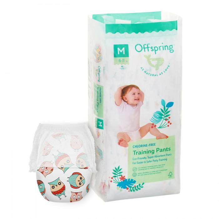 Купить Offspring Подгузники-трусики Совы M (6-11 кг) 42 шт.